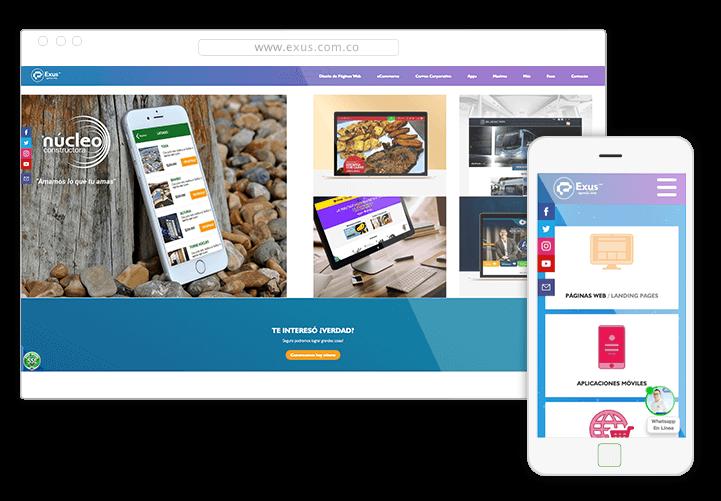 Exus Multimedia Diseño Web