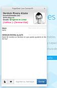 Sistema de antención en línea via chat.