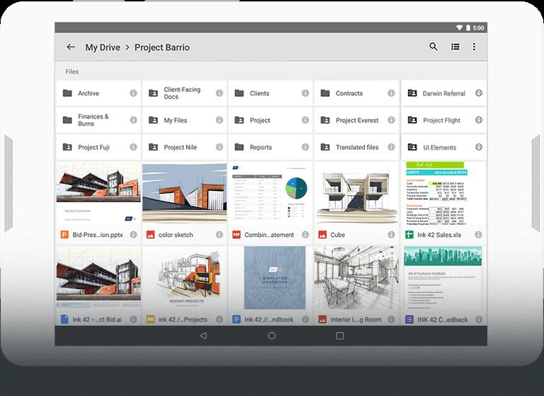 Almacena y comparta archivos en la nube - G Suite