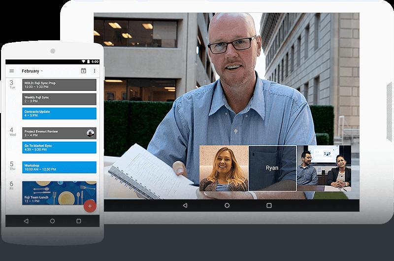 Colabore en tiempo real - G Suite