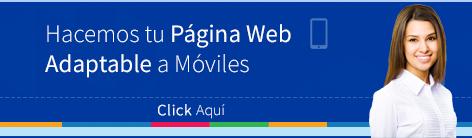 Hacemos páginas web adaptables a móviles, diseño web responsive