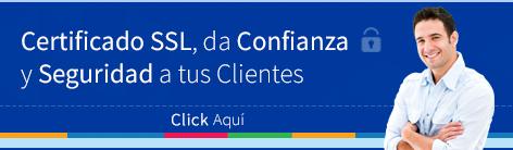 Dale confianza y seguridad a tus clientes implementando un certificado de seguridad SSL