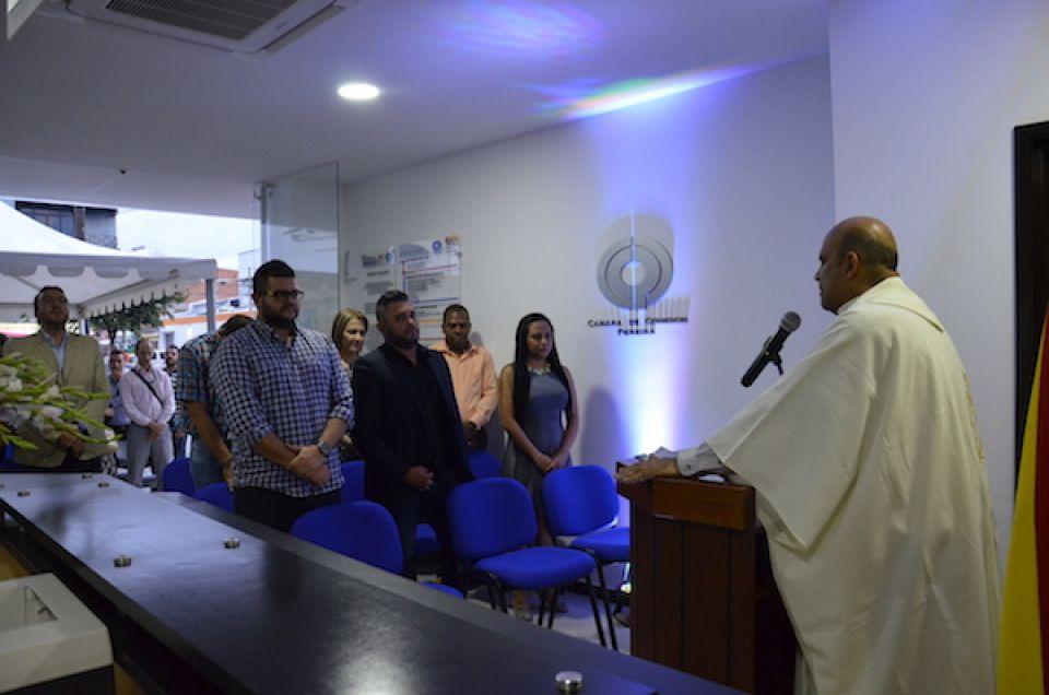 Inauguración sede de la Cámara de Comercio de Pereira en